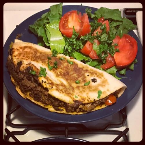 Dinner Quesadilla